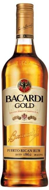 Zvětšit fotografii - Rum Bacardi Gold Oro 1l 37.5% A - Brown Forman